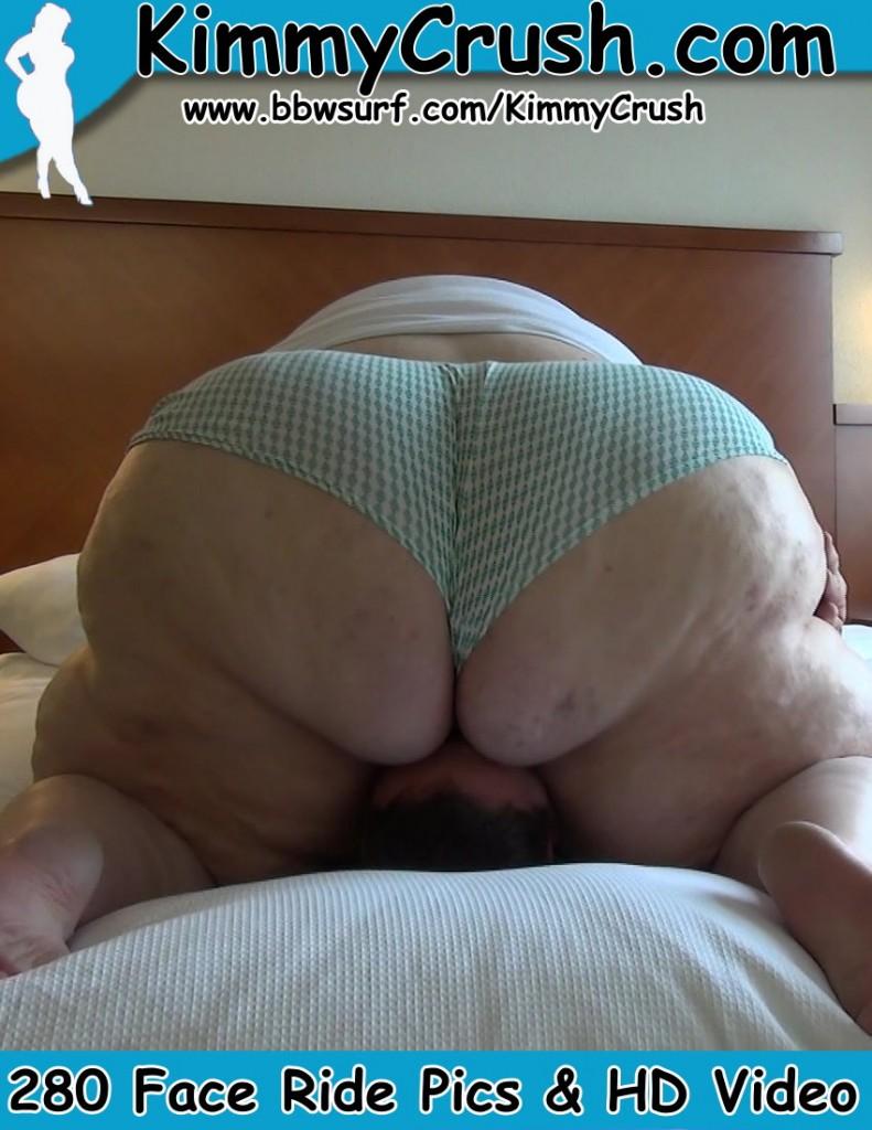 Big butt face sit